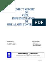 Fire Alarm Controller Report