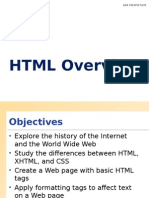 Week1 Lecture HTML Review