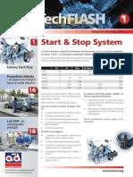 sistema start y stop en motores modernos