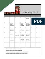 2015 football calendar