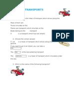 Word Processor exercises