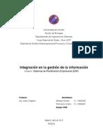 Integración en la gestión de la información