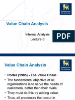Lecture 09 Value Chain Analysis