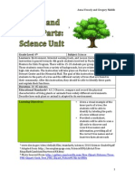 parts of a tree lesson plan
