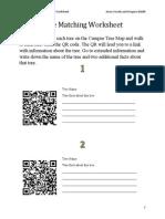 tree matching worksheet