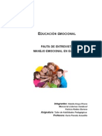Educación Emocional UST