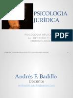 1. Introducción a la PsicologÃ-a Criminal
