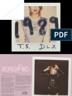 Taylor Swift - Digital Booklet - 1989