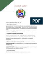 Proceso de Formacion de Ley Formal en Venezuela (1)