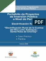 PIP Electrificacion Rural