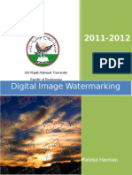 Digital Image Watermarking dwt,dct,fft