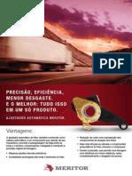 Folheto Ajustadores Meritor - 2012