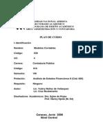 Plan de Curso 636 Modelos Contables