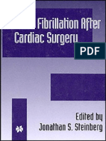 Atrial Fibrillation After Cardiac Surgery - J. Steinberg (Kluwer, 2000) WW