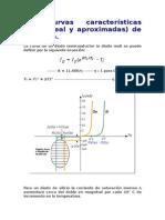 3 Curvas Características (Ideal, Real y Aproximadas) de Un Diodo