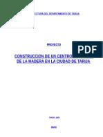 Acopio de Madera Proyecto