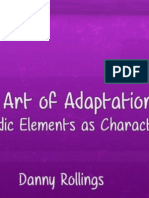 "{Adaptation B} ""Art Of"" Presentation"