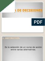 Index Toma de Decisiones .