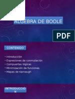 Algebra de Boole Edgardo Ulloa Comentada