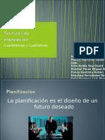 Procesos Cualitativos y Cuantitativos.