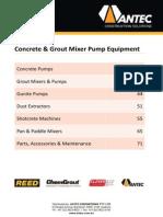 Concrete Equipment Catalogue