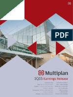 Earnings Release 1Q15