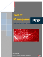 Talent Management, Taking a systematic approach