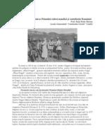 100 de Ani de La Izbucnirea Primului Razboi Mondial Si Contributia Romaniei (1)