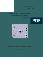 MATHEMATICAL COMBINATORICS (INTERNATIONAL BOOK SERIES), Volume 2 / 2012