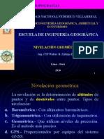 Clase 4 Nivelación Geométrica