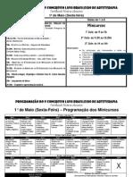 Programação Oficial Do v Congresso Luso Brasileiro de Arteterapia