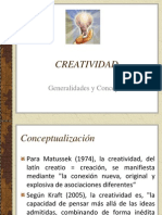 Fundamentos de Creatividad An