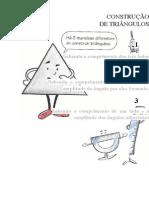 Ficha de ApoioConstrução de Triângulos