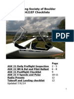 ASK 21 Preflight manual