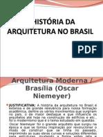 História da Arquitetura no Brasil