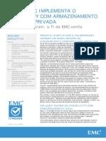TI Da EMC Aplica Nuvem Privada (Syncplicity)
