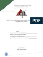 Relatorio 4 - Dispositivos Usados Para Medida Da Velocidade de Escoamento de Fluidos