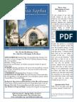 Bulletin for May 3, 2015