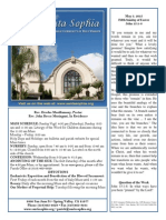Bulletin for May 3, 2015