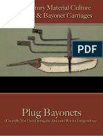 Arms & Accoutrements - Bayonets & Carriages