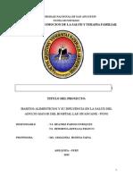 PERFIL DE TESIS HABITOS ALIMIENTICIOS EN EL ADULTO MAYOR EN EL HOSPITAL DE HUANCANE.docx