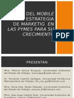 Uso Del Mobile Como Estrategia de Marketig En