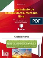Abatecimiento de Distriudora y Mercado Libre