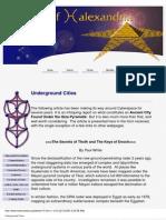 Ancient Civilisations Underground Cities