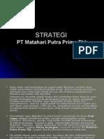 Strategi Strategi Perusahaan