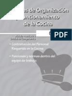 Técnicas de Organización y funcionamiento de la cocina