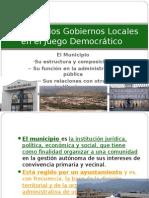 1.1 I El Rol de Los Gobiernos Locales en El Juego Democratico