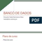Introdução Banco de dados - Parte 1