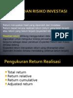 Return Resiko Investasi