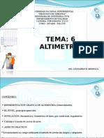 altimetria-nivelacion PRESENTACION